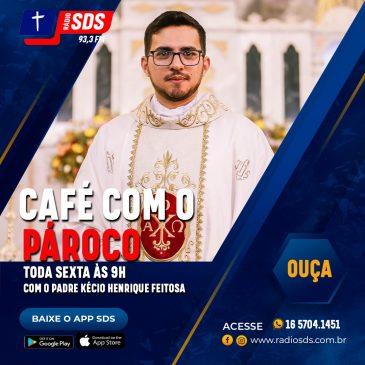 CAFÉ COM O PÁROCO